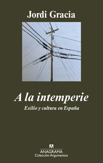 A la intemperie - cover