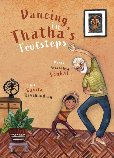 Dancing in Thatha's Footsteps - cover