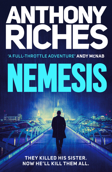 Nemesis - A new gripping British thriller full of action and adventure - cover