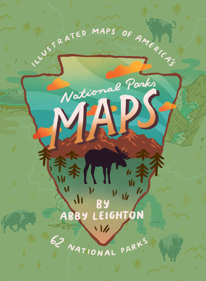 National Parks Maps - cover