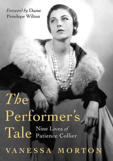 The Performer's Tale - The Nine Lives of Patience Collier - cover
