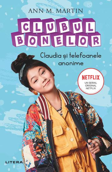 Clubul Bonelor - Claudia și telefoanele anonime - cover