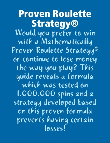 Proven Roulette Strategy® - cover