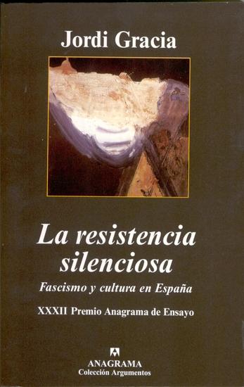 La resistencia silenciosa - cover