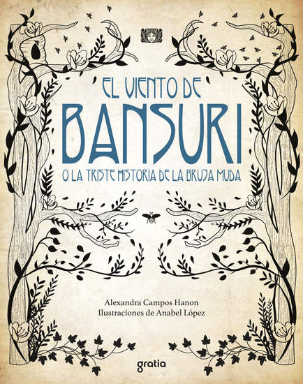 El viento de Bansuri o la triste historia de la bruja muda - cover
