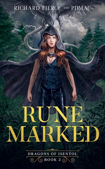 Rune Marked - Dragon of Isentol Book 2 - cover