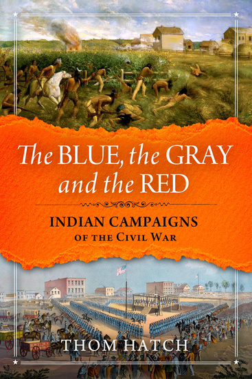 The Blue The Gray and The Red - cover