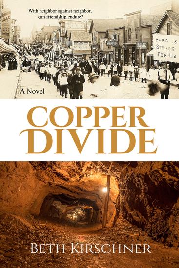 Copper Divide - A Novel - cover
