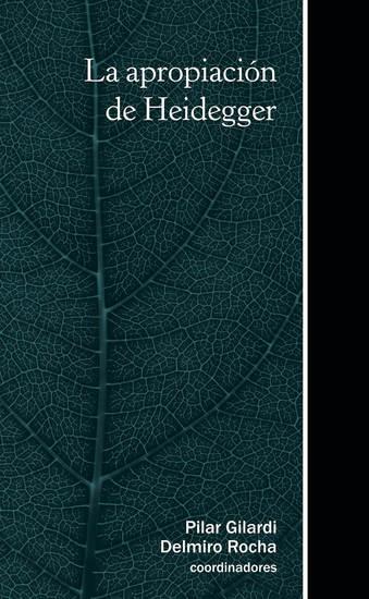 La apropiación de Heidegger - cover