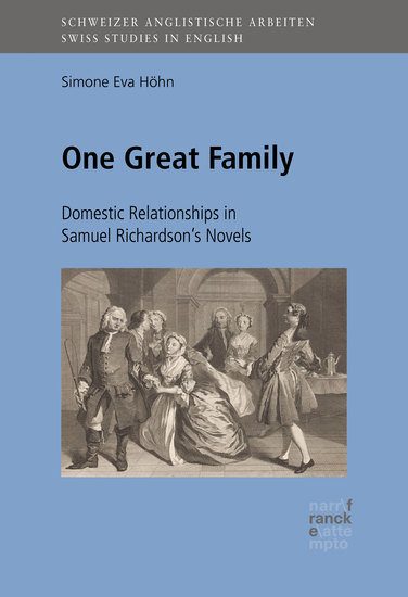 One Great Family: Domestic Relationships in Samuel Richardson's Novels - cover