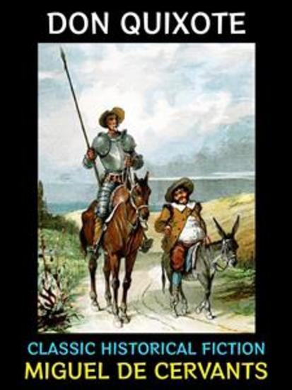 Don Quixote - Classic Literary Fiction - cover