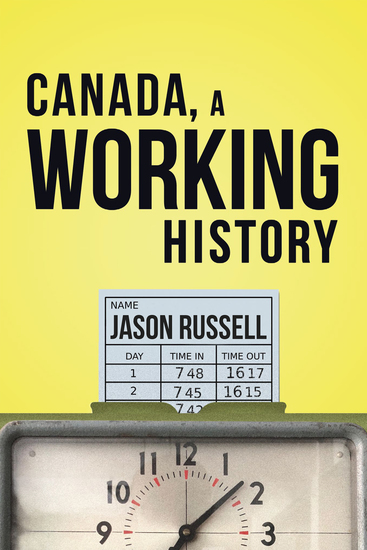 Canada A Working History - cover
