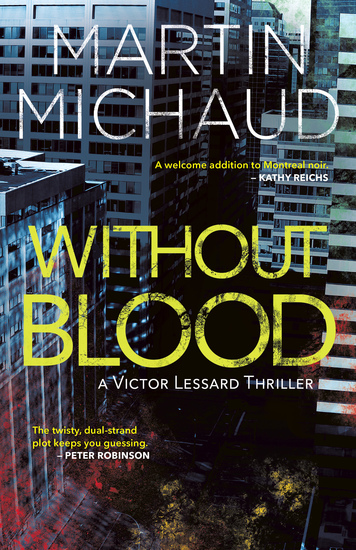 Without Blood - A Victor Lessard Thriller - cover