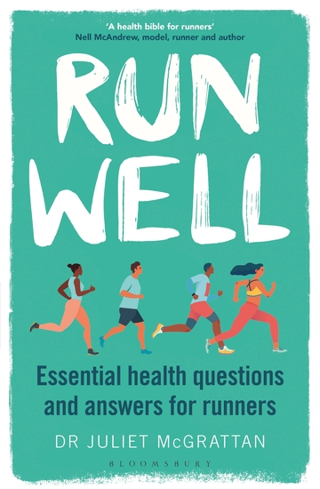 Run Well - Essential health questions and answers for runners - cover