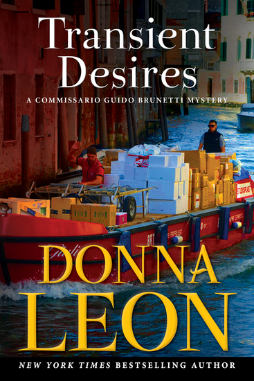 Transient Desires - A Commissario Guido Brunetti Mystery - cover