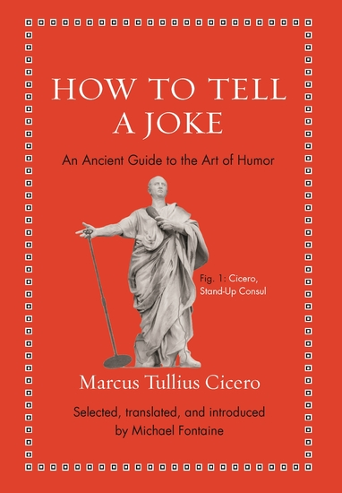 How to Tell a Joke - An Ancient Guide to the Art of Humor - cover