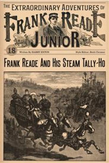 Frank Reade And His Steam Tally-Ho - cover