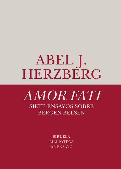 Amor fati Siete ensayos sobre Bergen-Belsen - cover