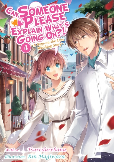Can Someone Please Explain What's Going On?! Volume 4 - cover
