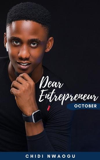Dear Entrepreneur - October - cover