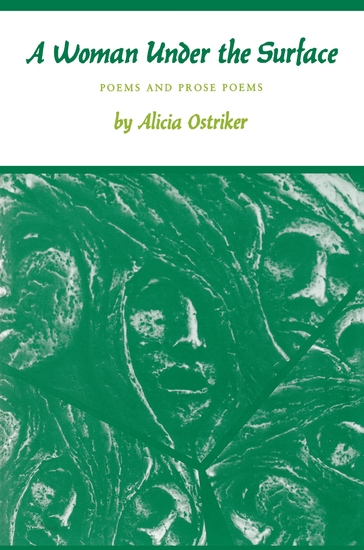 A Woman Under the Surface - Poems and Prose Poems - cover