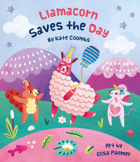 Llamacorn Saves the Day - cover