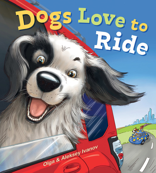 Dogs Love to Ride - cover