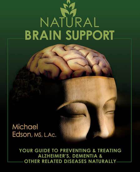Natural Brain Support - Your Guide to Preventing and Treating Alzheimer's Dementia and Other Related Diseases Naturally - cover