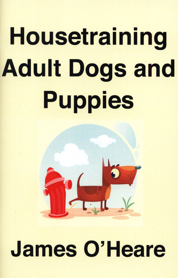 Housetraining Adult Dogs and Puppies - cover