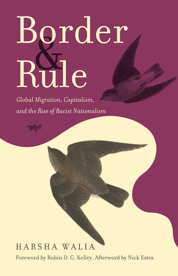 Border and Rule - Global Migration Capitalism and the Rise of Racist Nationalism - cover