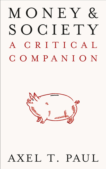 Money and Society - A Critical Companion - cover