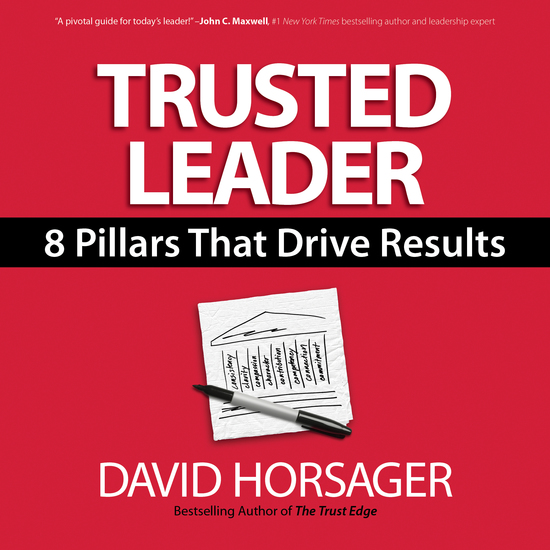 Trusted Leader - 8 Pillars That Drive Results - cover