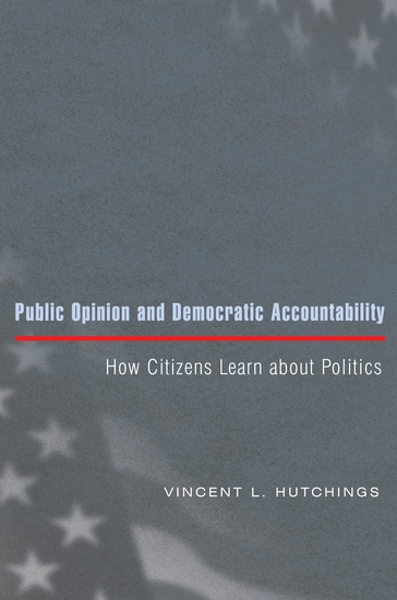 Public Opinion and Democratic Accountability - How Citizens Learn about Politics - cover