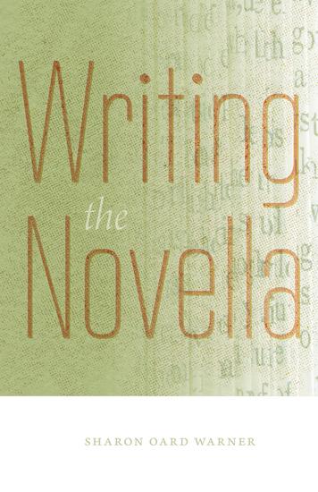 Writing the Novella - cover