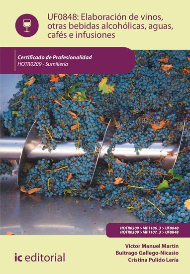 Elaboración de vinos otras bebidas alcohólicas aguas cafés e infusiones HOTR0209 - cover