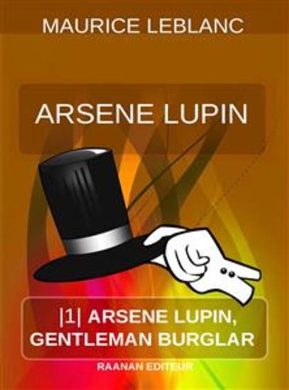 Arsene Lupin Gentleman Burglar - cover