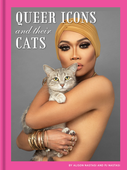 Queer Icons and Their Cats - cover