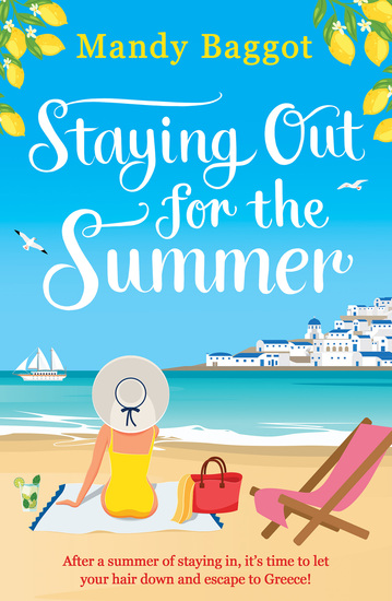 Staying Out for the Summer - a laugh-out-loud romantic comedy which is the perfect beach read - cover