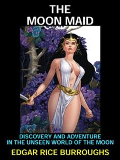 The Moon Maid - Science Fiction Classic - cover