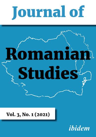 Journal of Romanian Studies - Volume 31 (2021) - cover