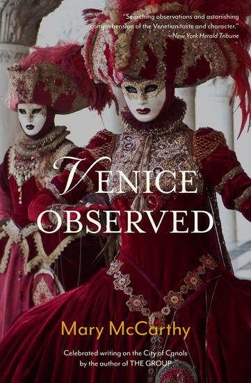 Venice Observed - cover