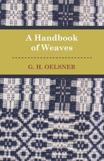 A Handbook Of Weaves - cover
