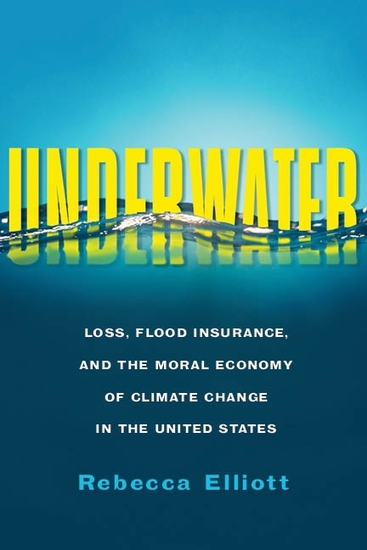 Underwater - Loss Flood Insurance and the Moral Economy of Climate Change in the United States - cover