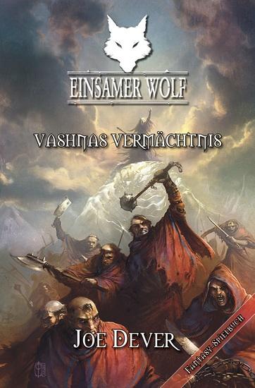 Einsamer Wolf 16 - Vashnas Vermächtnis - cover