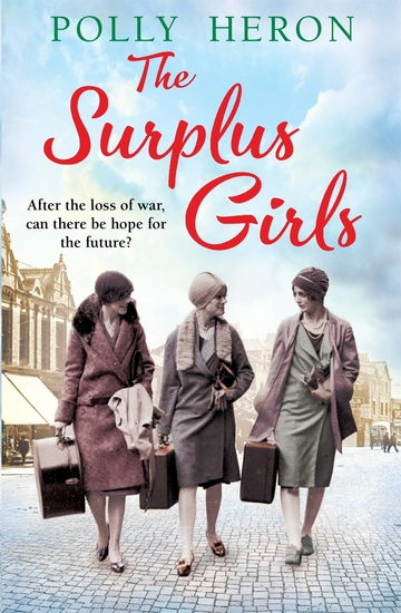 The Surplus Girls - An enthralling saga of love and bravery perfect for fans of Lyn Andrews and Lily Baxter - cover
