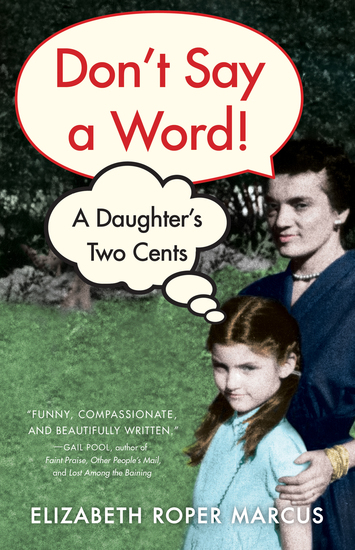 Don't Say a Word - A Daughter's Two Cents - cover