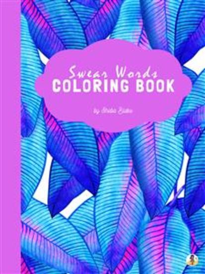 Swear Words Coloring Book for Adults (Printable Version) - cover