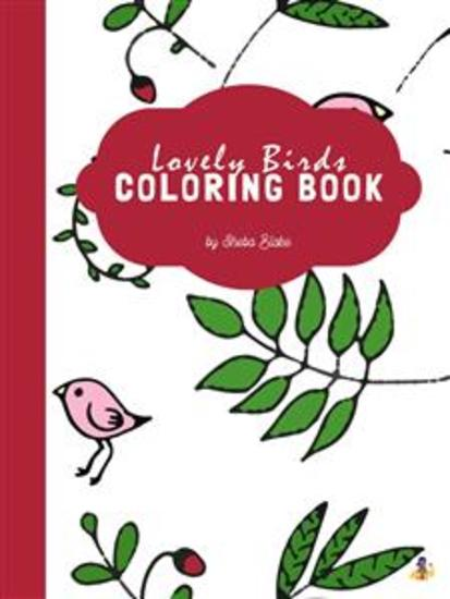 Lovely Birds Coloring Book for Teens (Printable Version) - cover