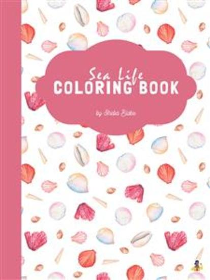 Sea Life Coloring Book for Teens (Printable Version) - cover