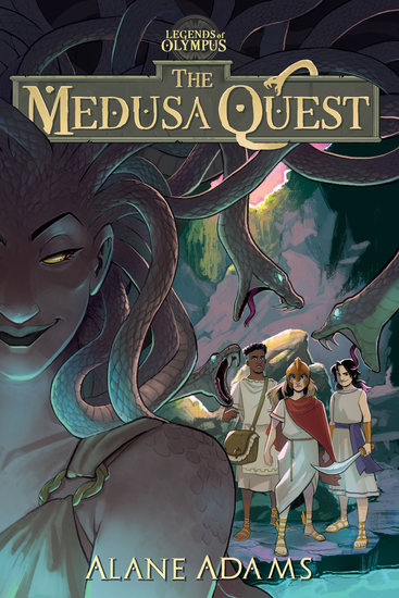 The Medusa Quest - The Legends of Olympus Book 2 - cover